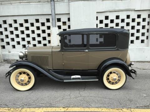 1930 Ford Model A Tudor Sedan for sale
