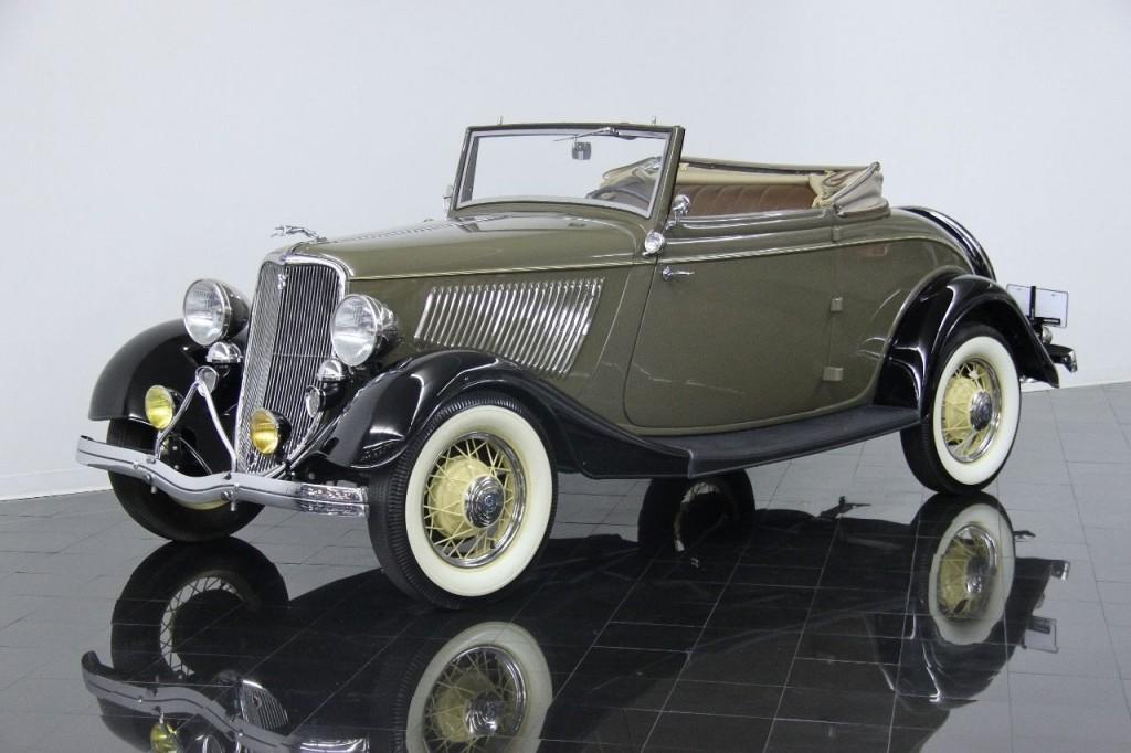 1933 ford model 40 deluxe cabriolet for sale. Black Bedroom Furniture Sets. Home Design Ideas