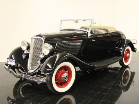 1933 Ford Model 40 Deluxe Rumble Seat Roadster for sale