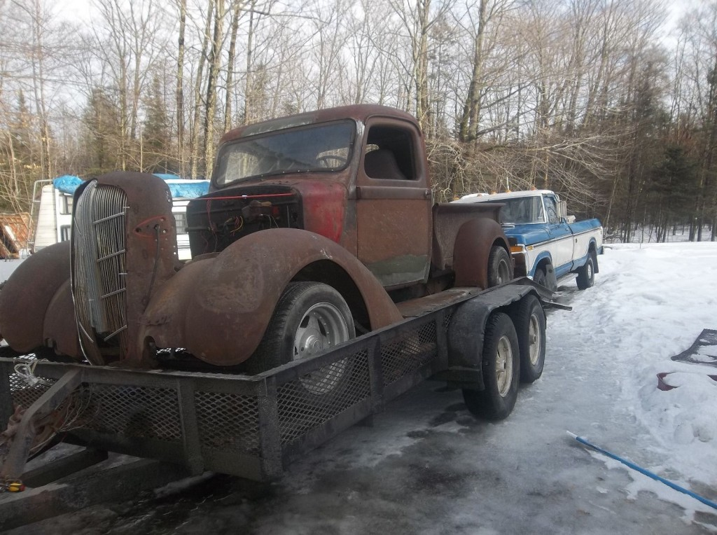 1936 Dodge rat rod pickup for sale