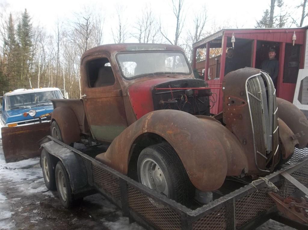 1936 dodge rat rod pickup for sale. Black Bedroom Furniture Sets. Home Design Ideas