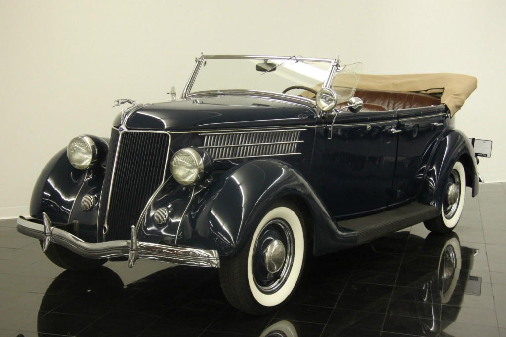 1936 Ford Deluxe Phaeton Restored