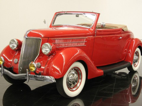 1936 Ford Model 68 Deluxe Rumble Seat Cabriolet for sale