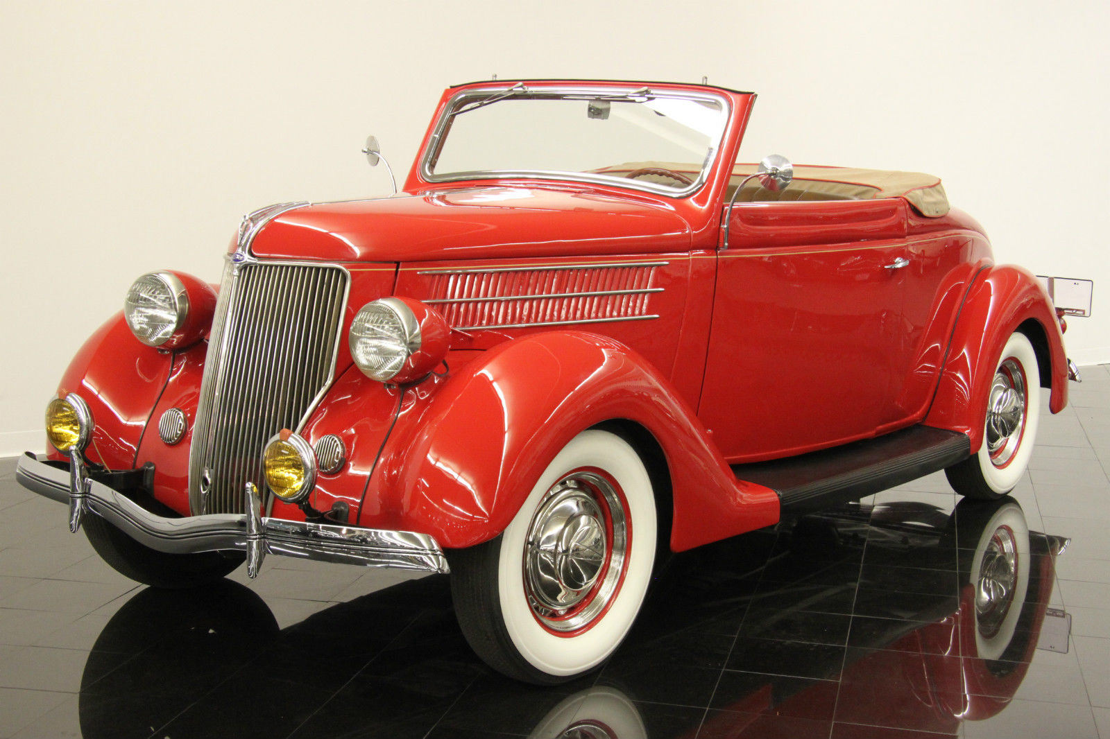 1936 ford model 68 deluxe rumble seat cabriolet for sale. Black Bedroom Furniture Sets. Home Design Ideas