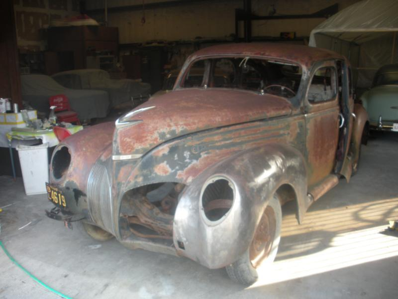 1939 Lincoln Zephyr For Sale