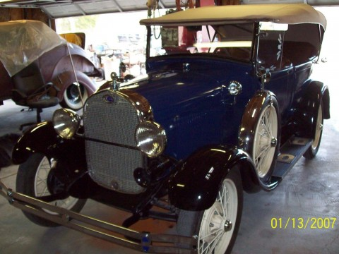 1928 Ford Model A 4DR Pheaton for sale