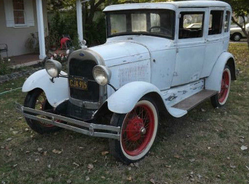 1929 Ford Model A Restoration Project For Sale
