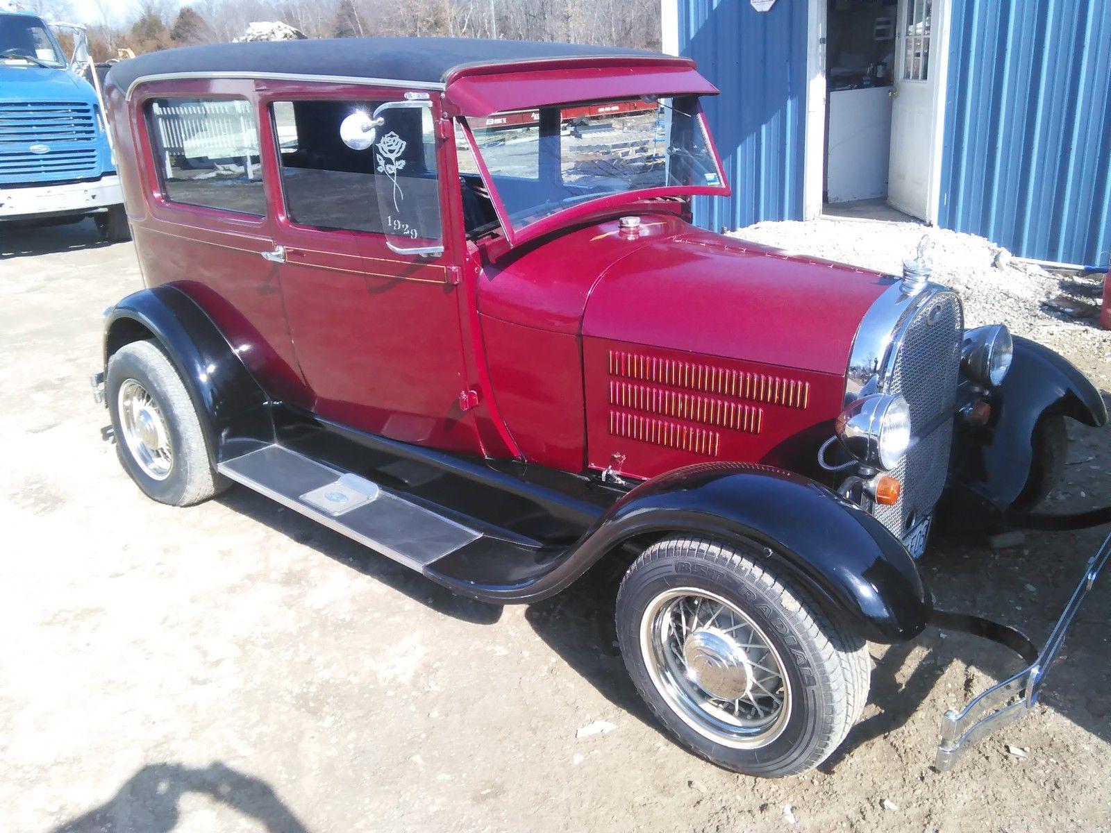 1929 Ford Model A Sedan Street Rod Rat Rod For Sale