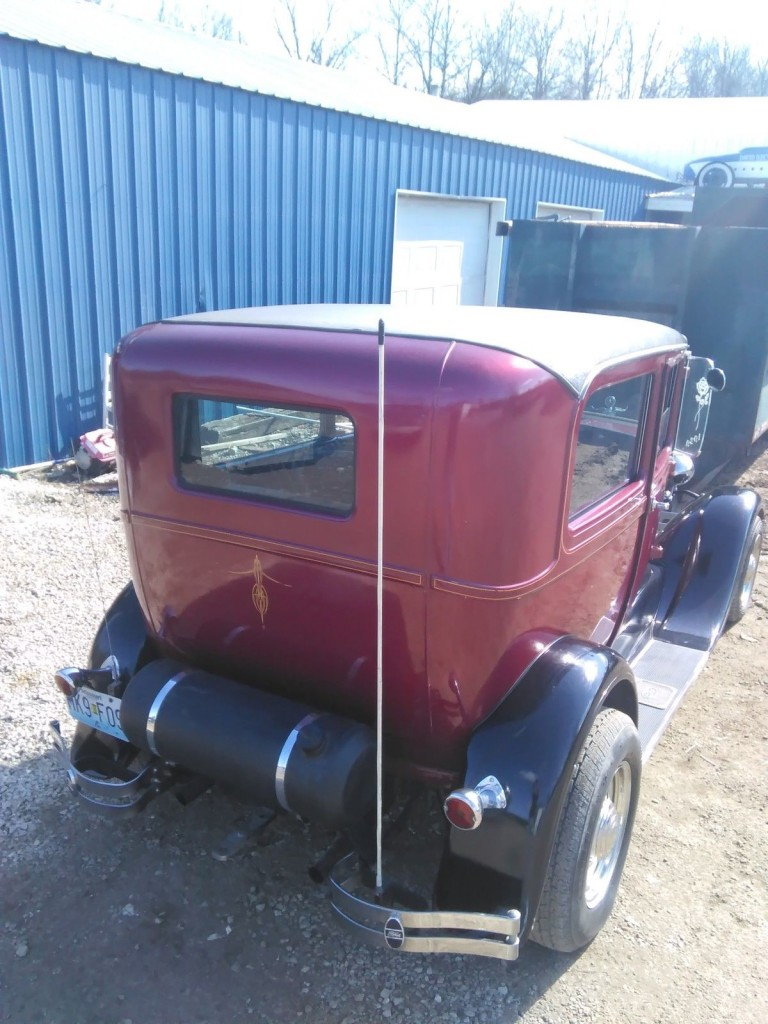 1929 Ford Model A sedan street rod / rat rod for sale
