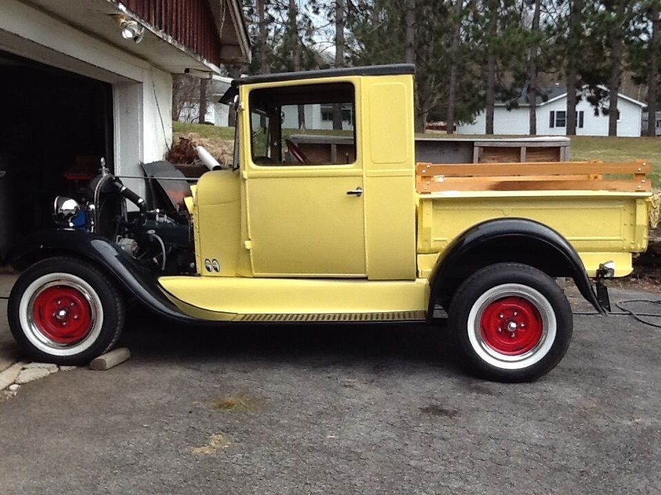 1930 Ford Model A Closed Cab Pick Up For Sale