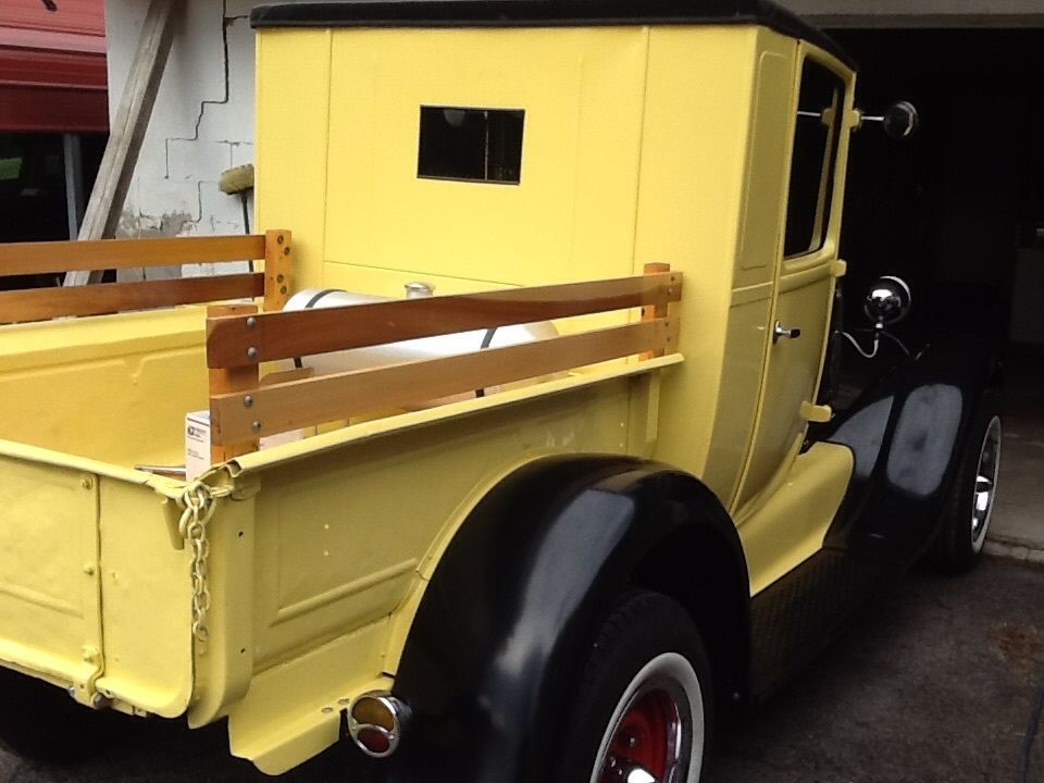 1930 Ford Model A Closed Cab Pick up