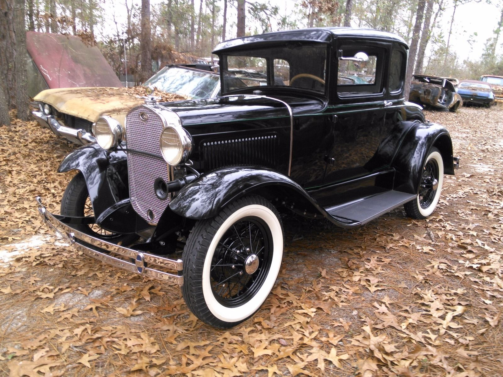1931 ford model a 5 window coupe for sale. Black Bedroom Furniture Sets. Home Design Ideas