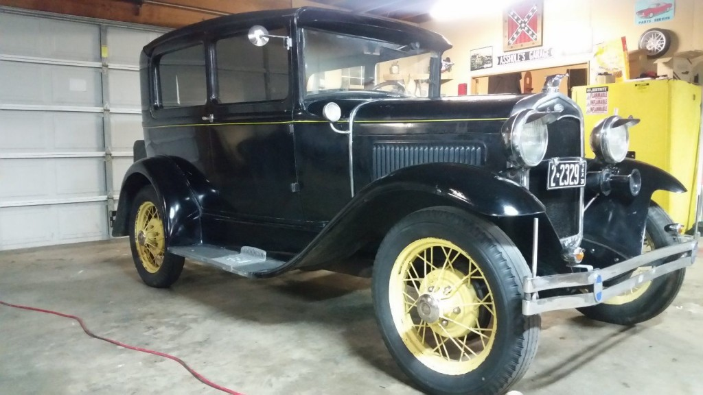 1931 ford model a tudor for sale. Black Bedroom Furniture Sets. Home Design Ideas