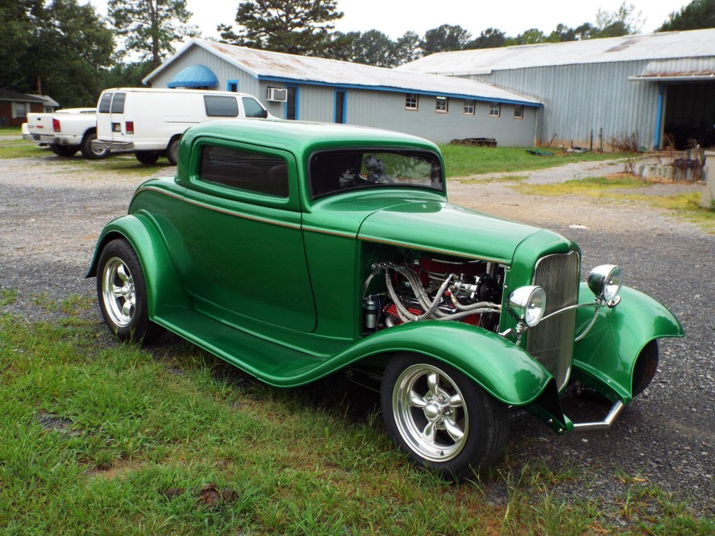 1932 ford 3 window coupe for sale. Black Bedroom Furniture Sets. Home Design Ideas