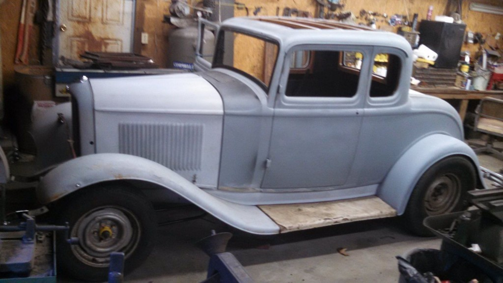 1932 Ford 5 Window project for sale