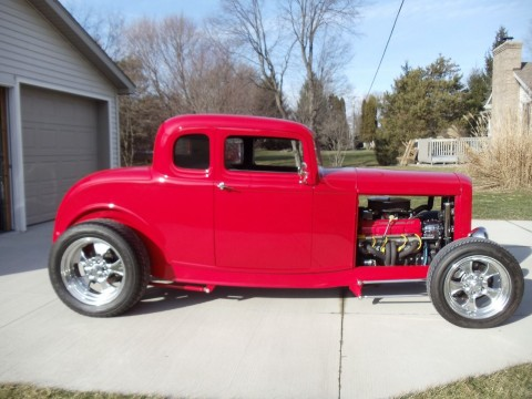 1932 Ford Five Window Coupe for sale