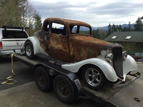 1934 Ford all steel 5 window for sale