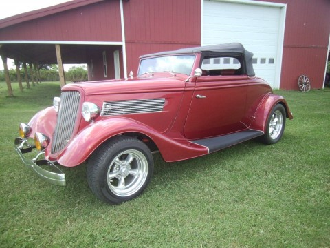 1934 Ford Convertible for sale