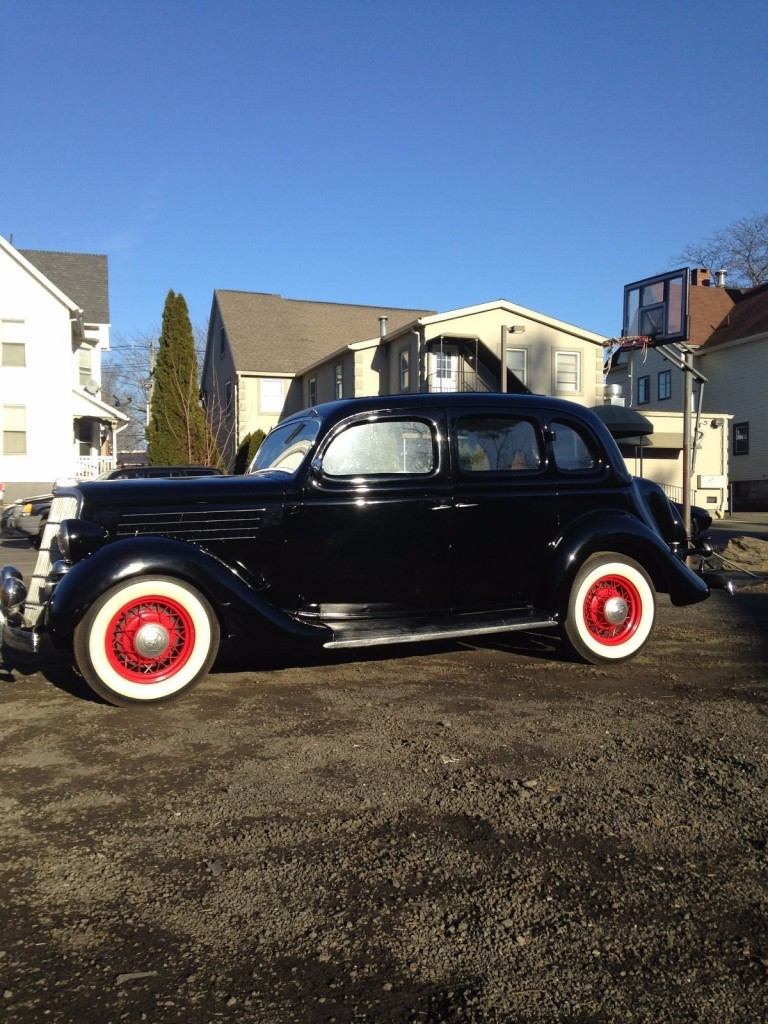 1935 Ford F48 Humpback Sedan For Sale