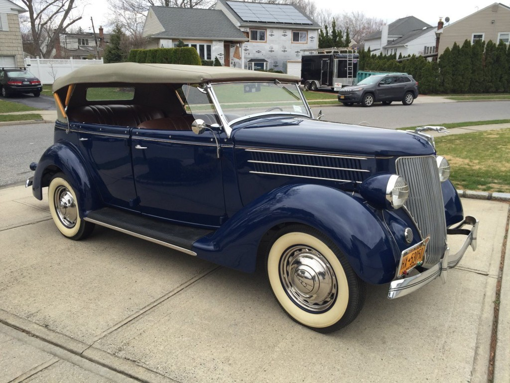 1936 ford phaeton deluxe convertible convertible for sale. Black Bedroom Furniture Sets. Home Design Ideas
