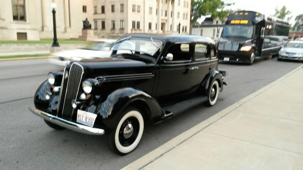 1936 Plymouth P2 7 Passenger Limo For Sale
