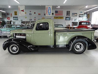 1937 dodge pickup all steel custom hot rot for sale. Black Bedroom Furniture Sets. Home Design Ideas