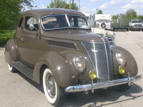1937 Ford Deluxe Business Coupe for sale