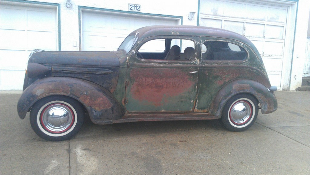 1937 Plymouth Slant back 2 dr Mopar,rat Rod,old school for sale