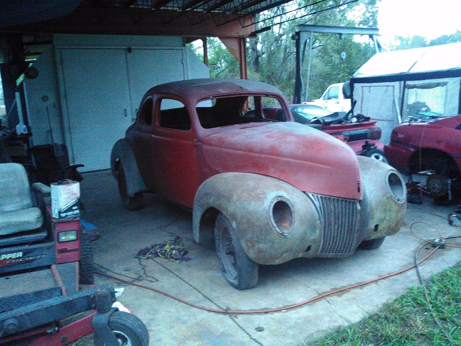 1939 Ford Deluxe Business Coupe For Sale