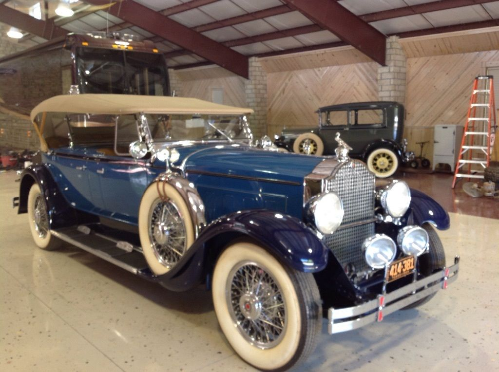 1929 Packard Dual Cowl Phaeton For Sale