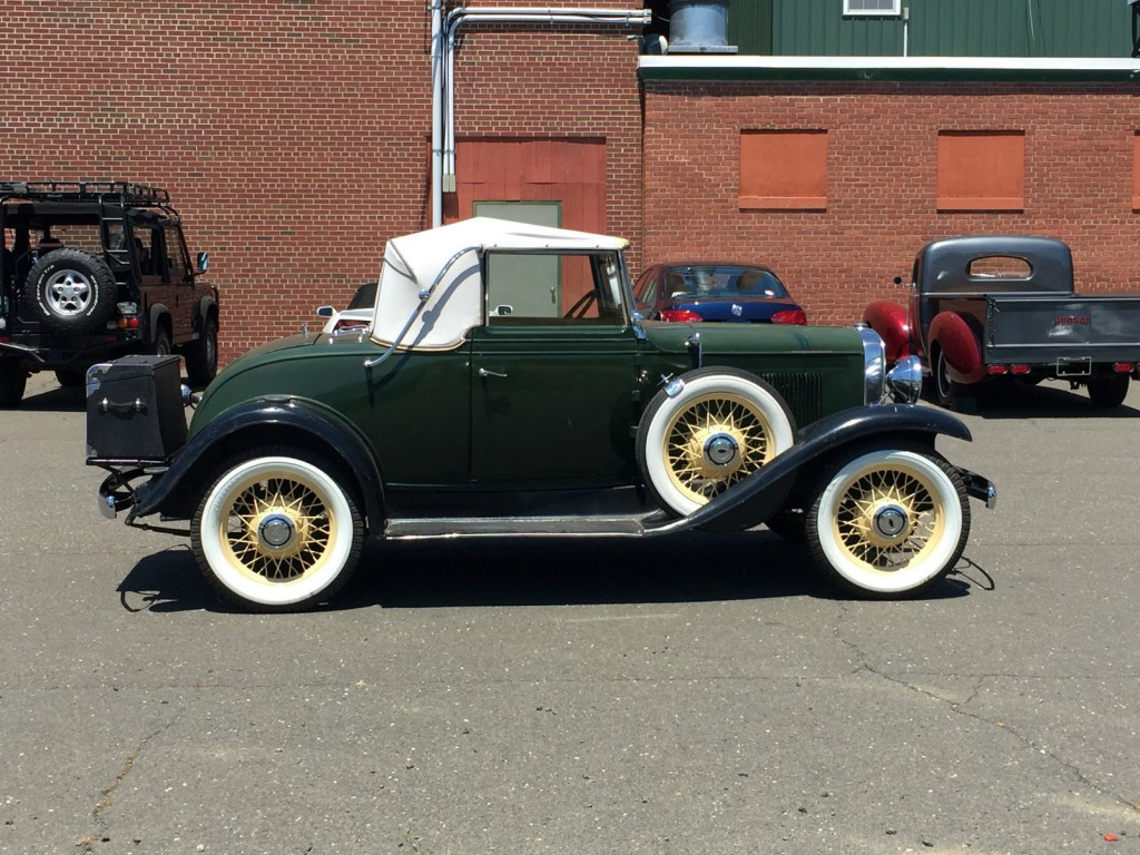 1931 Chevrolet AE Independence Rumbleseat Cabriolet