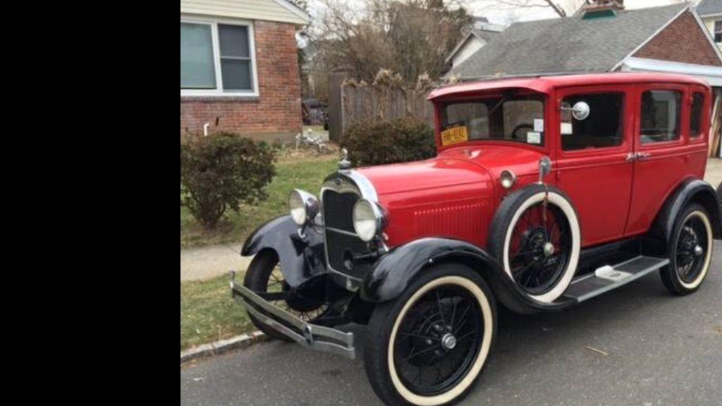 1929 Ford Model A Fordor Sedan