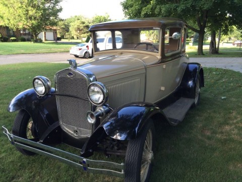 1930 Ford Model A Coupe with Rumble Seat for sale