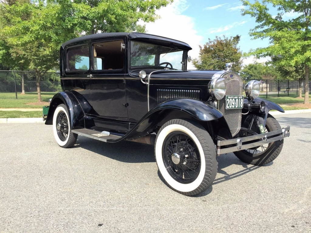 1930 ford model a tudor deluxe for sale. Black Bedroom Furniture Sets. Home Design Ideas