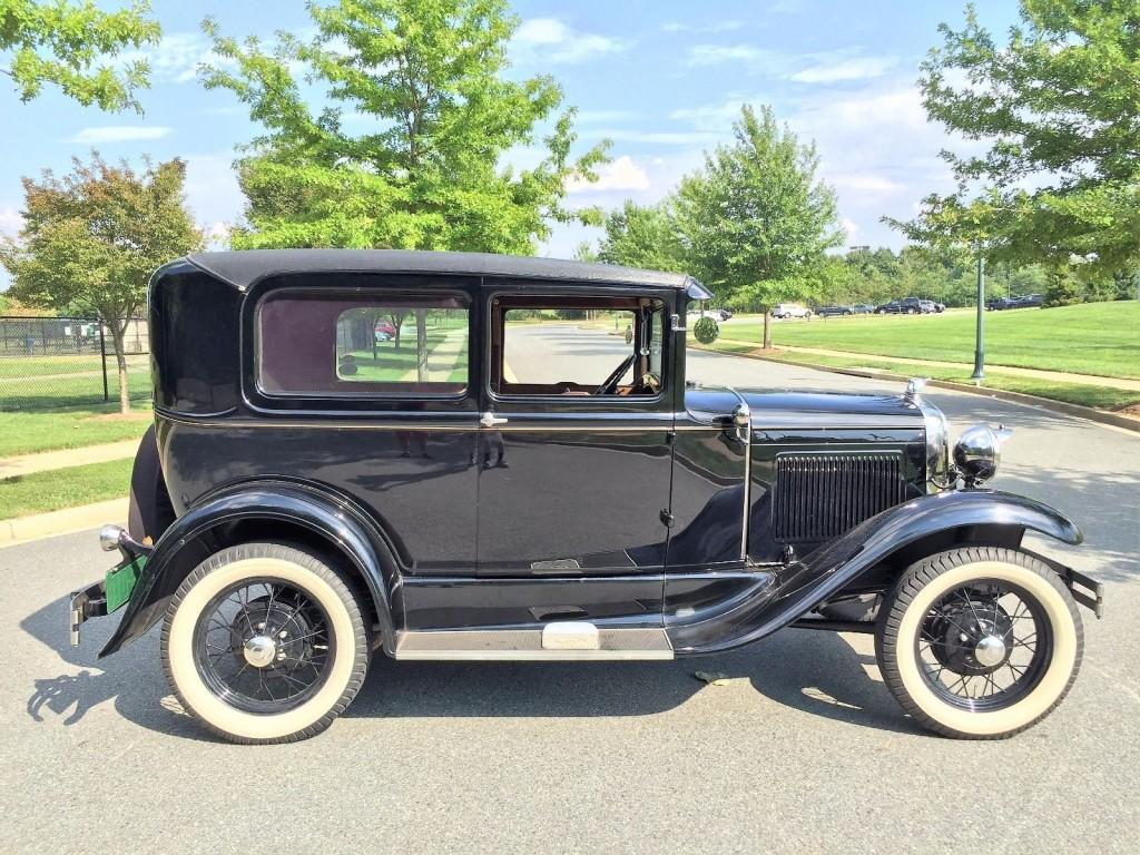 1930 ford model a tudor deluxe for sale. Black Bedroom Furniture Sets. Home Design Ideas