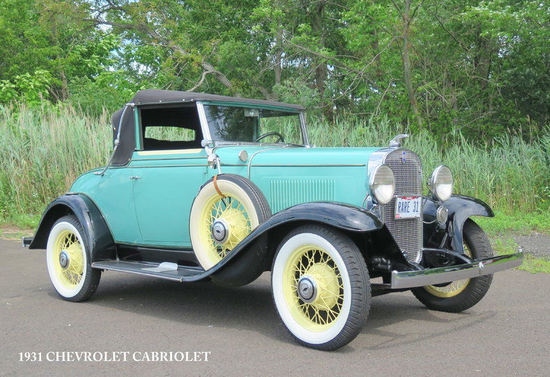 1931 Chevrolet Cabriolet Rumbleseat For Sale