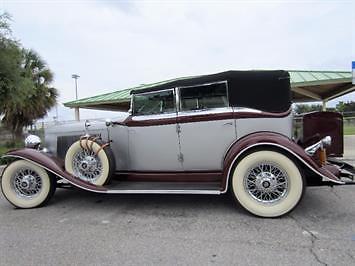 1932 Auburn Twelve Salon Phaeton Sedan V12 for sale