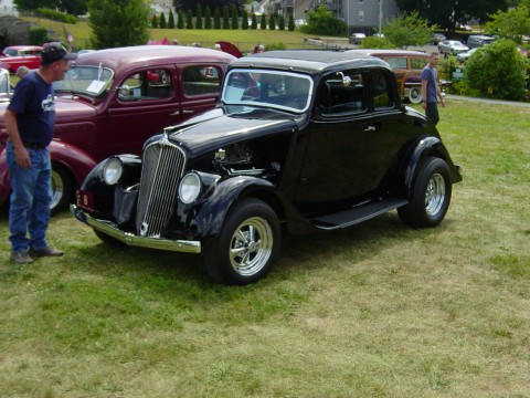 1933 Willys 77 Steel Coupe for sale