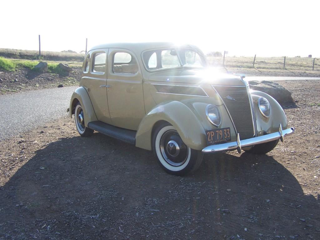 1937 Ford 4 Door Sedan Slant Back For Sale Rear Wiring Harness