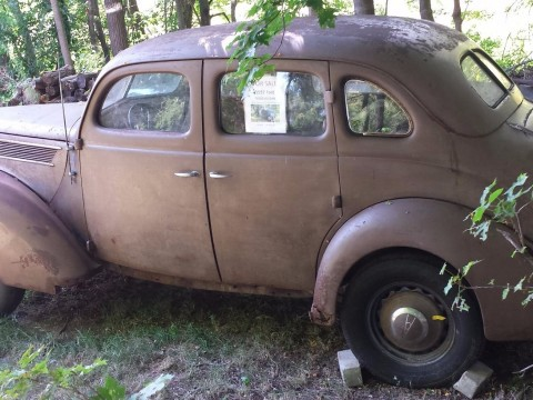 1937 Ford Fordor Sedan Project Car for sale