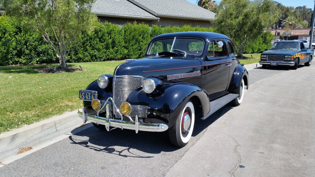 Chevy 85 Truck >> 1939 Chevrolet Business Coupe Master 85 for sale