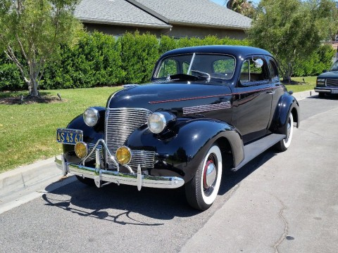 1939 Chevrolet Business Coupe Master 85 for sale