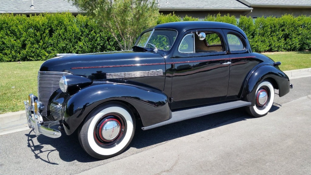 1939 Chevrolet Business Coupe Master 85