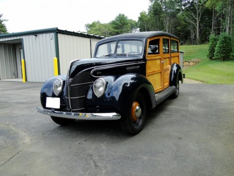 1939 Ford 91A Standard Woodie Wagon for sale