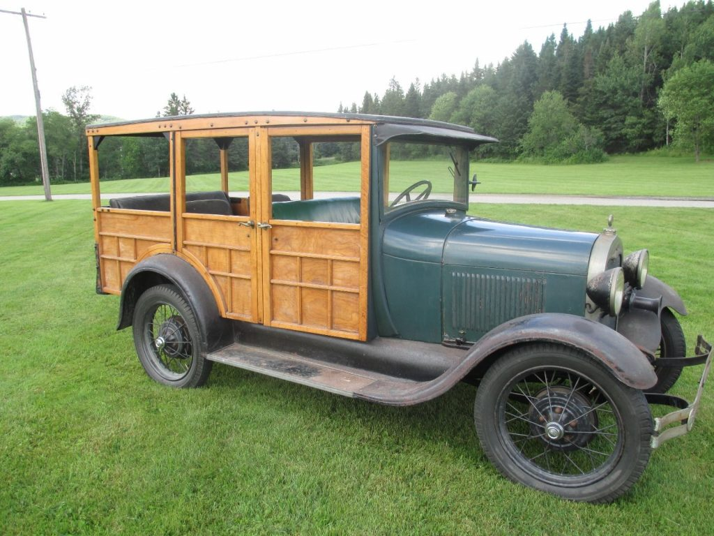 Woody 1929 Ford Model A Station wagon all original for sale