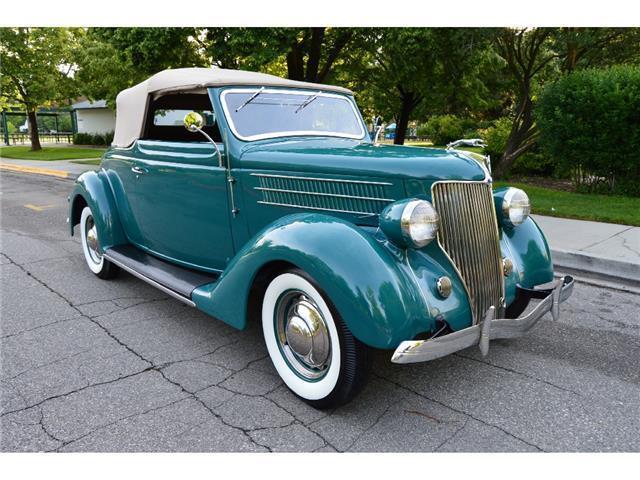 Rare frame off restored 1936 Ford Club Cabriolet