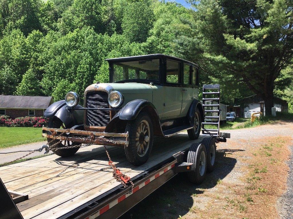 1926 studebaker model er standard six four door sedan for sale. Black Bedroom Furniture Sets. Home Design Ideas