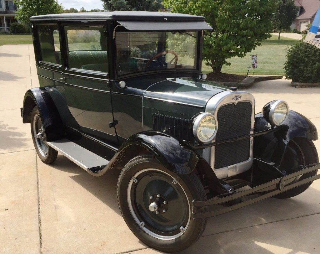 Nicely restored 1927 Chevrolet Capitol Coach