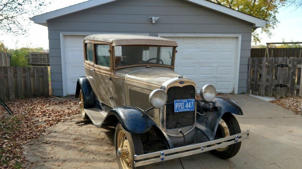 old restoration 1930 ford model a sedan for sale. Black Bedroom Furniture Sets. Home Design Ideas