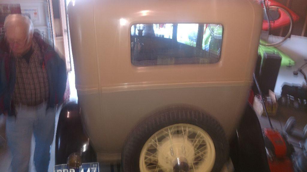 Old restoration 1930 Ford Model A Sedan